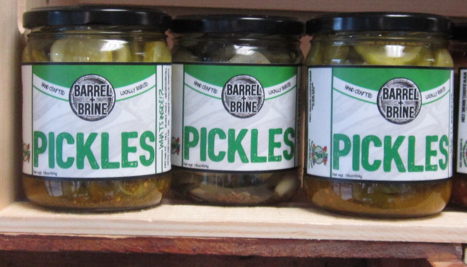 Barrel and Brine Horseradish Pickles 16oz
