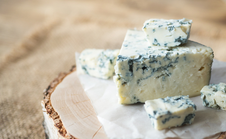 Cayuga Blue Goat Cheese 4oz