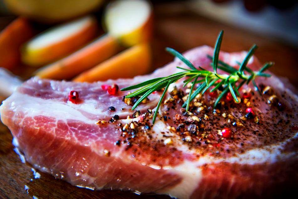 Pork Chops Bone In $13.99/lb 1.5lb, 2/Pack