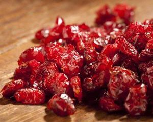 Organic Dried Cranberries 1lb