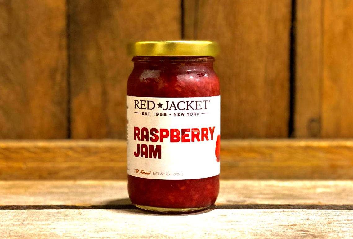 Red Raspberry Jam 8oz Jar