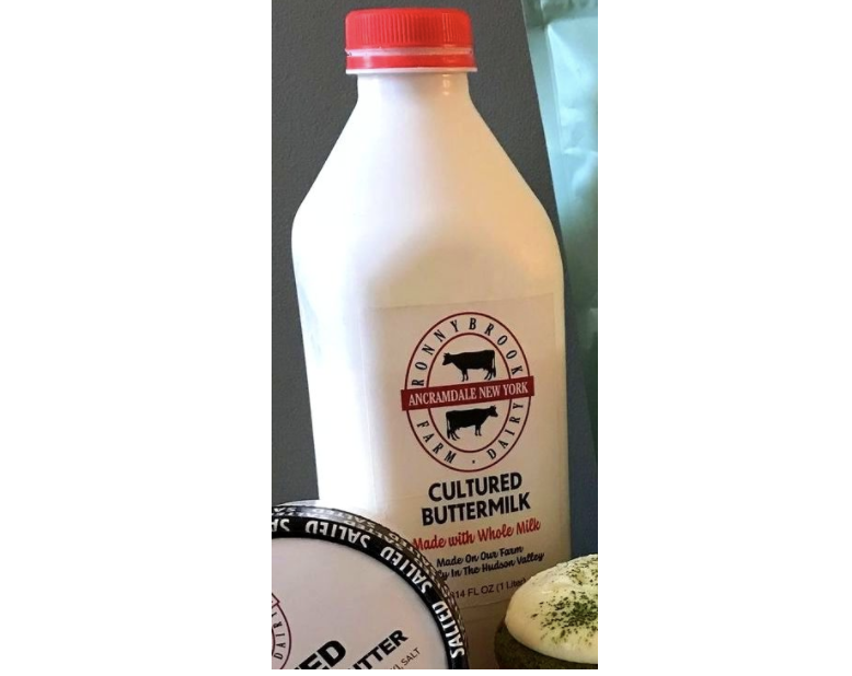 Ronnybrook Cultured Buttermilk Quart