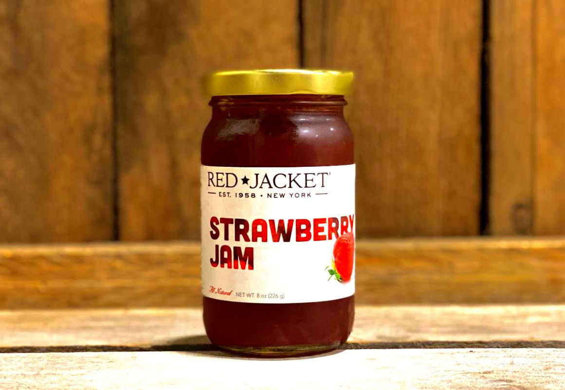 Strawberry Rhubarb Jam- 8oz