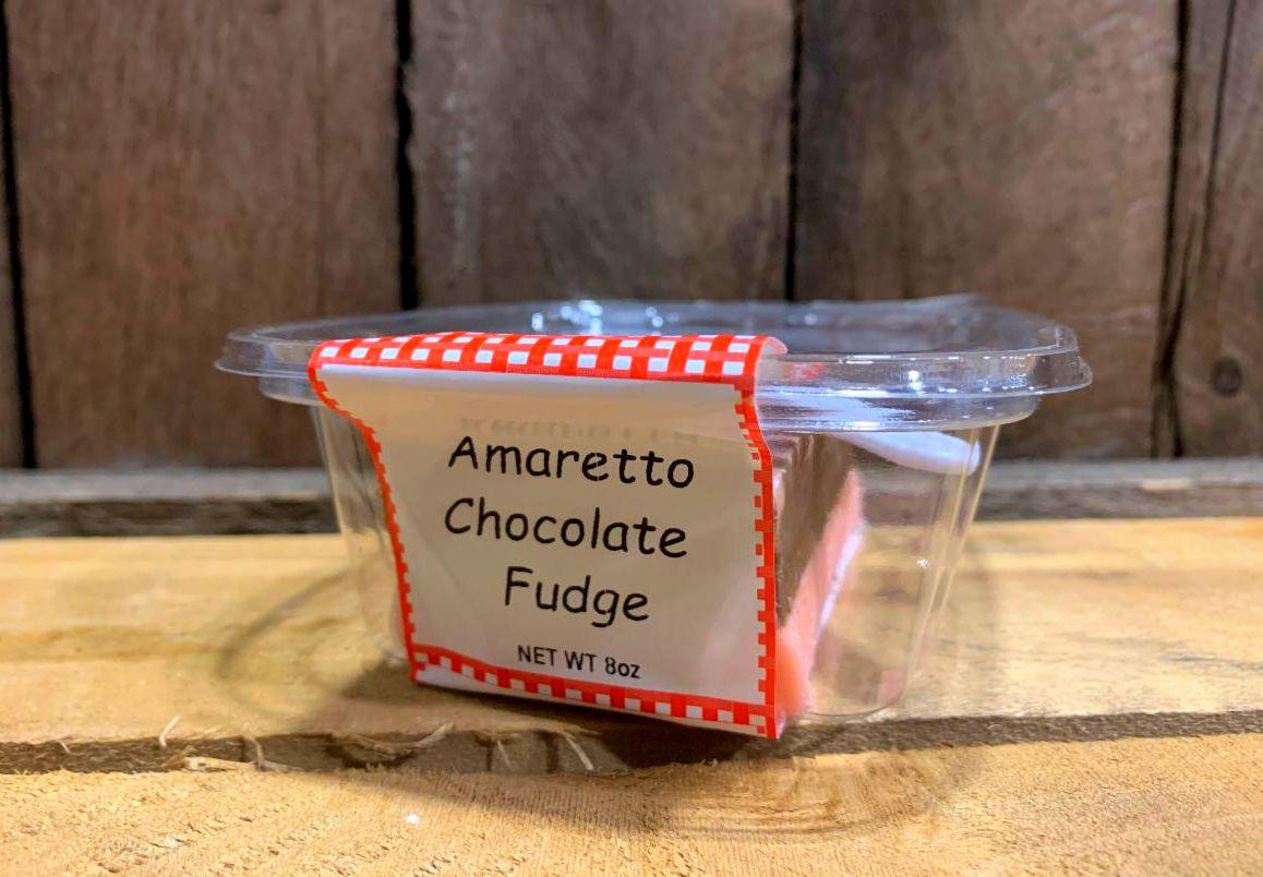 Amaretto Chocolate Fudge 8oz