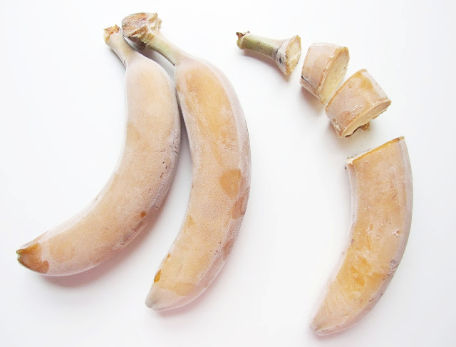 FROZEN Organic Bananas 4lb Bag