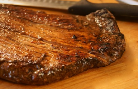Bison Flank Steak .85lb Steak $24.99/lb
