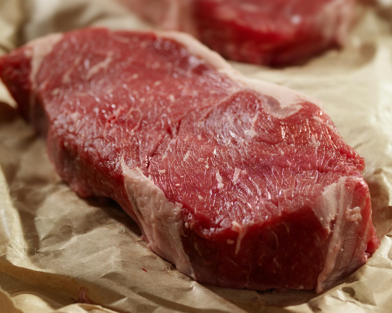 Bison NY Strip Loin .5lb $33/lb