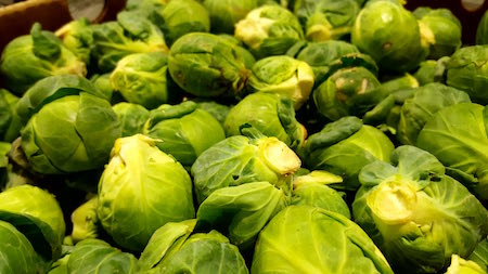 Organic Brussels Sprouts 2lb Bag