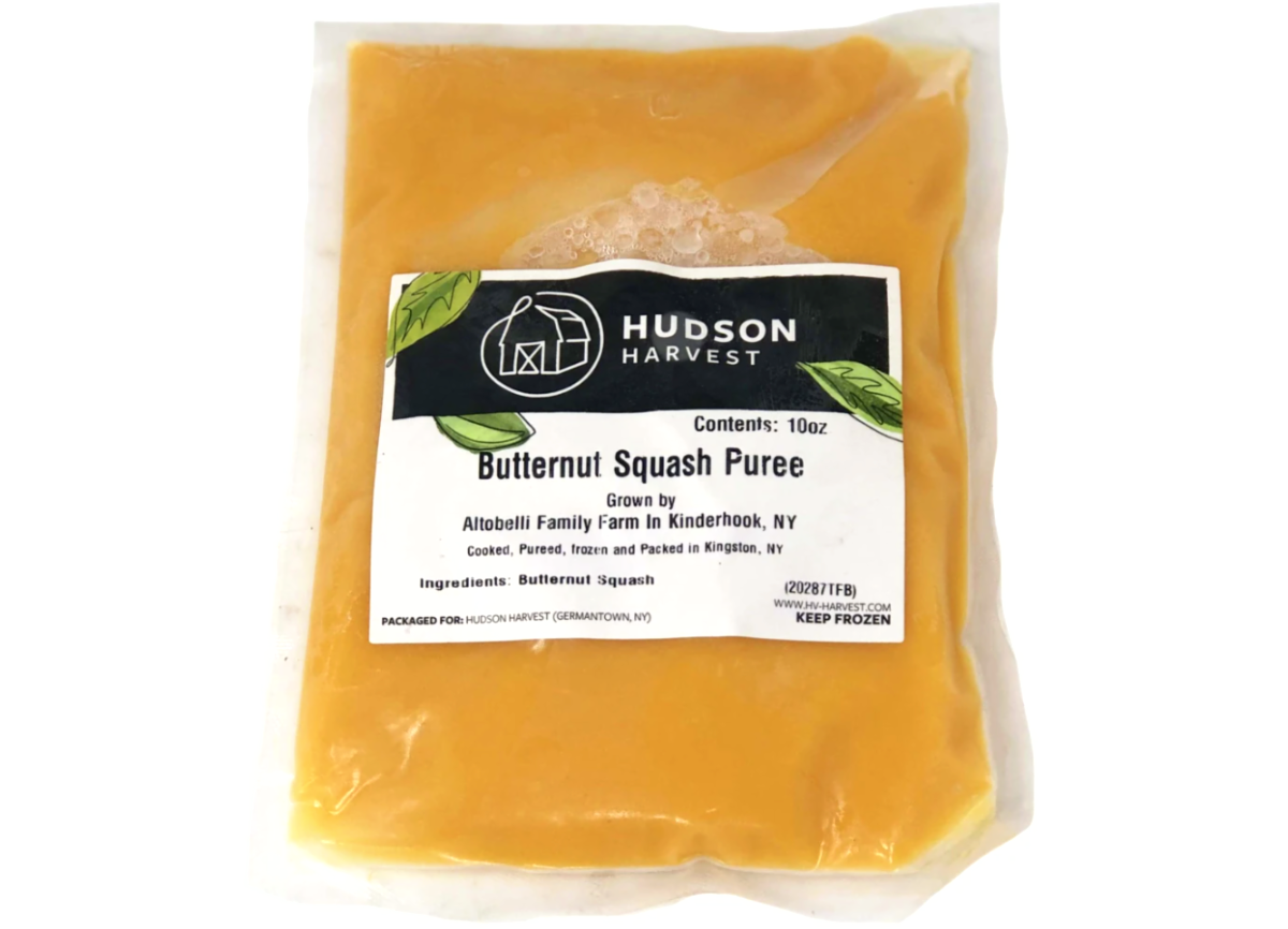 Local Butternut Squash Puree 10oz- Frozen