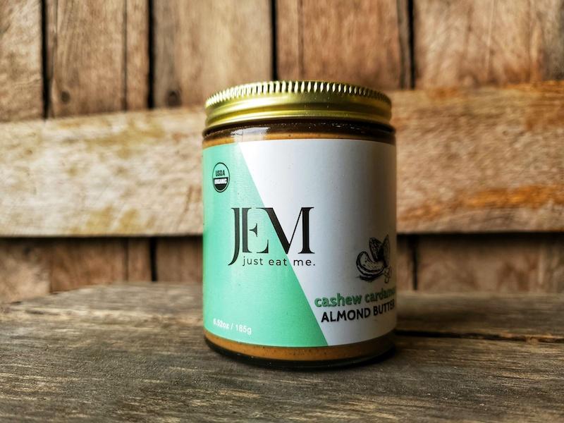 Cashew Cardamom Nut Butter- Raw Organic 6.5oz