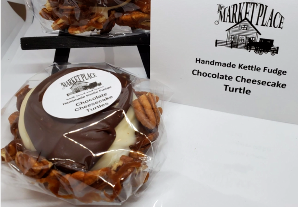 Chocolate Cheesecake Turtle 1/4lb