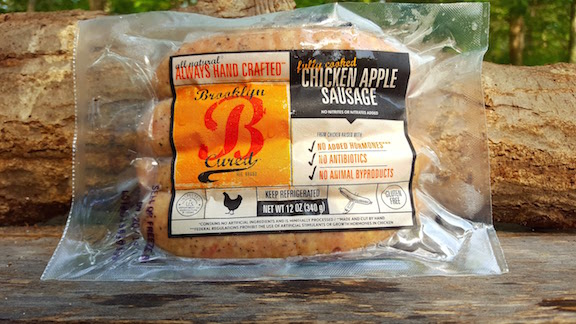 Chicken Apple Sausage 5lb Package $8.99/lb
