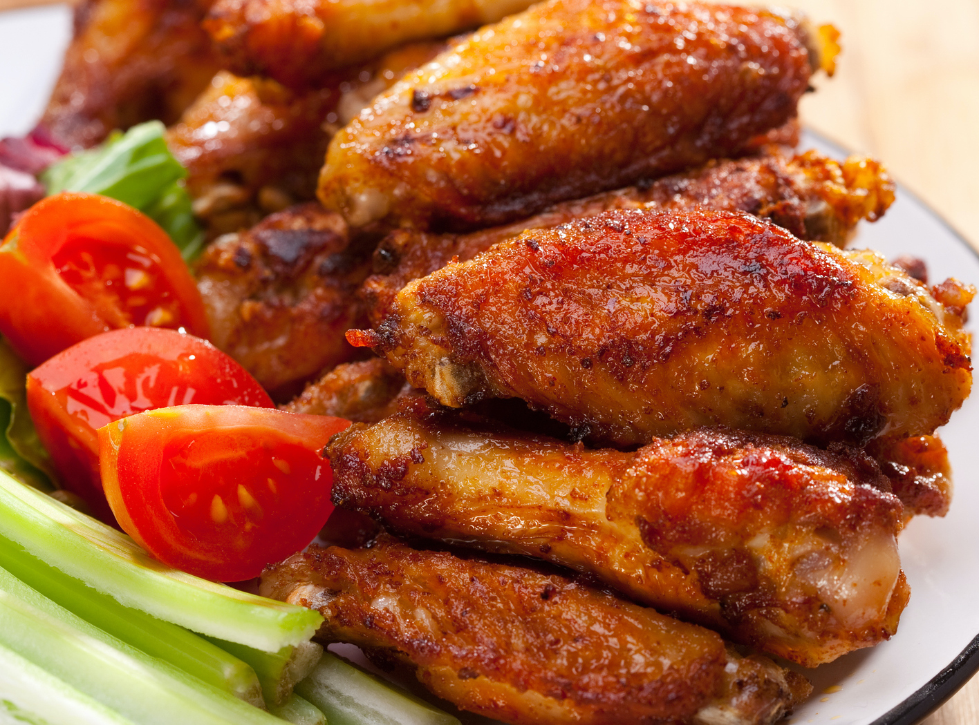 Chicken Wings $6.75/lb .9b Pack