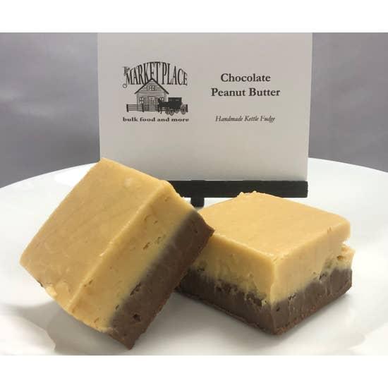 Fudge-Chocolate Peanut Butter 1/4lb