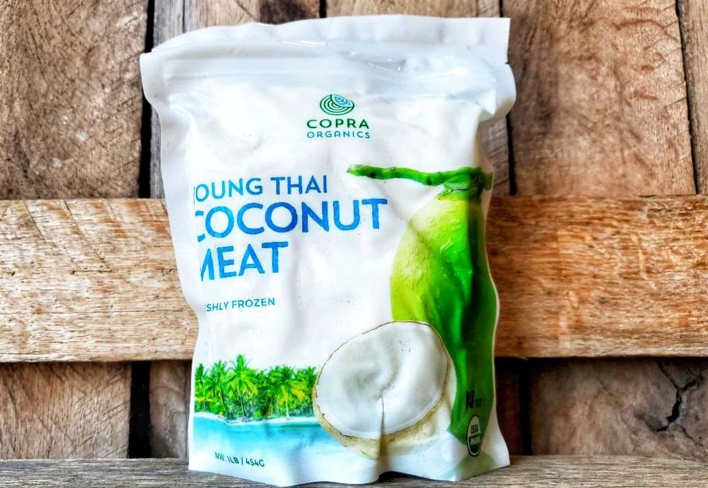 Organic Coconut Meat 1lb- Frozen