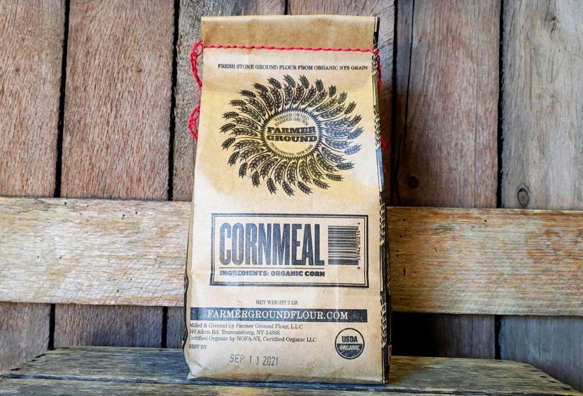 Organic Cornmeal 2lbs