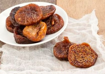 Dried Black Mission Figs 1/2lb