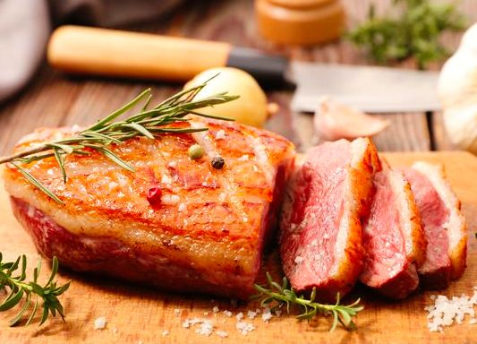 * Uncooked * Duck Breast $16.99lb 2.4lb