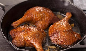 Duck Leg Confit- 6 Pack- 2.5lbs * Fully Cooked