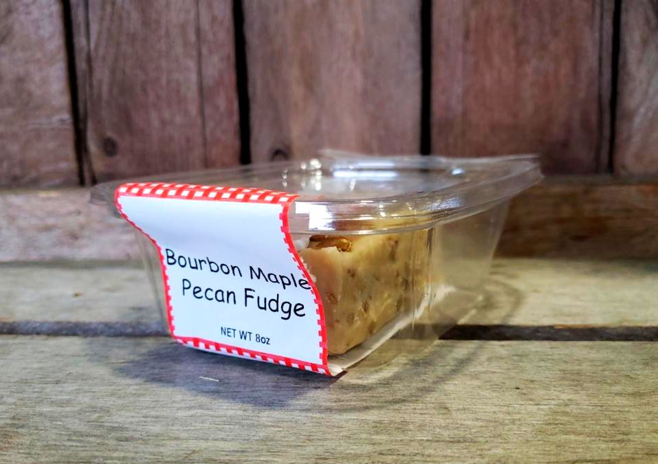 Fudge- Bourbon Maple Pecan 8oz