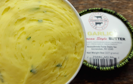 Ronnybrook Garlic Butter 8oz