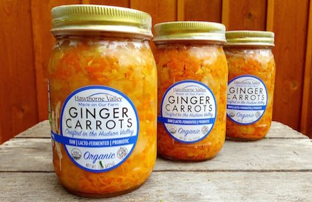 Organic Ginger Carrots