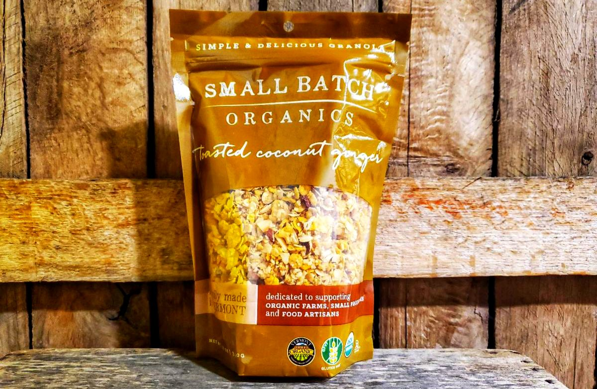 Organic Toasted Coconut Ginger Granola 12oz