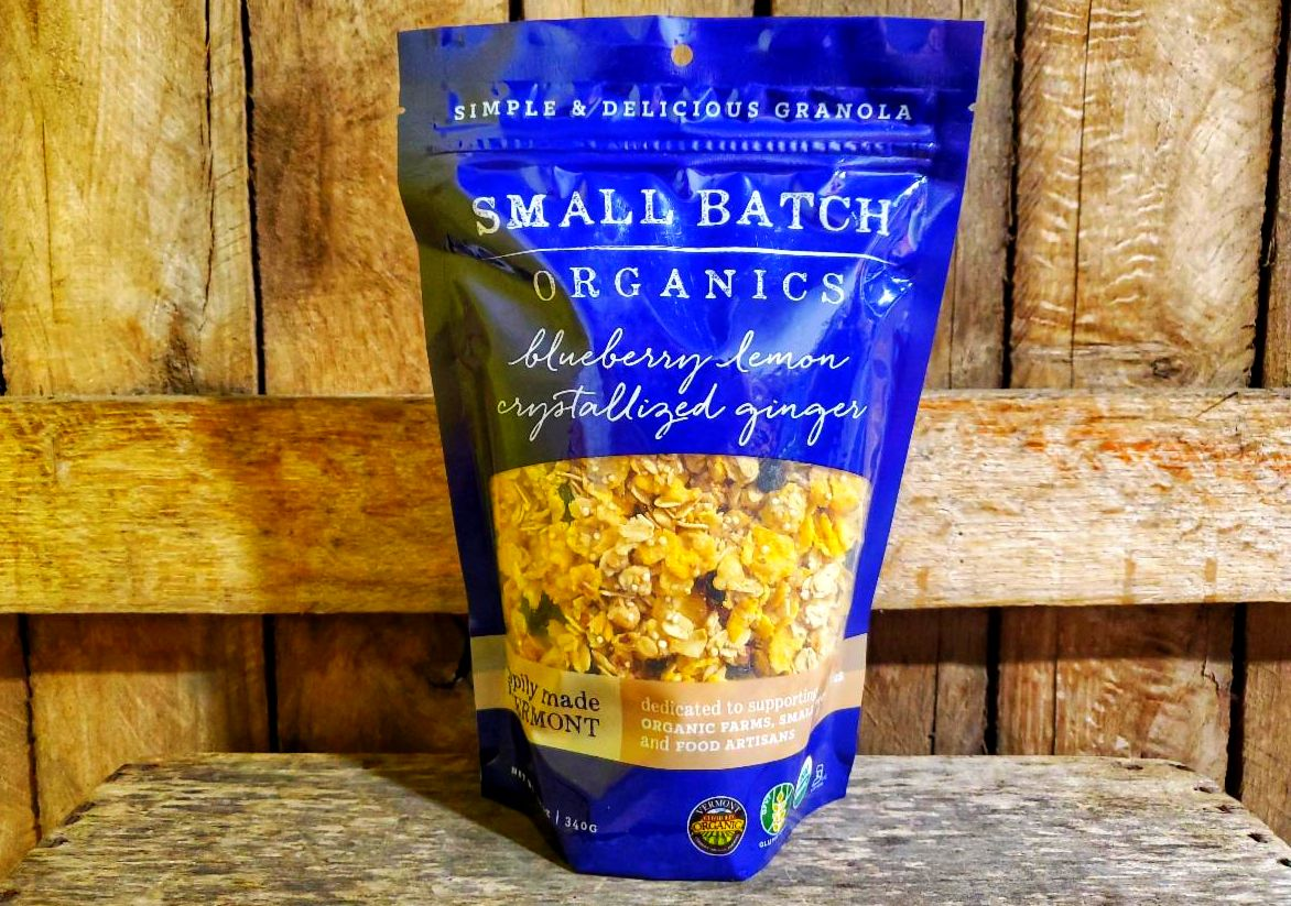 Organic Blueberry Lemon Ginger Granola 12oz