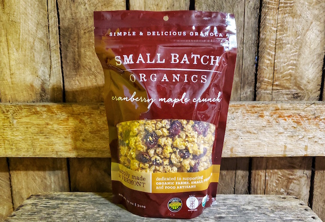 Organic Cranberry Maple Crunch Granola 12oz
