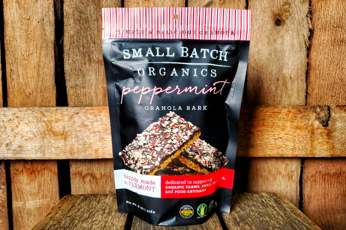Organic Peppermint Granola Bark 8oz
