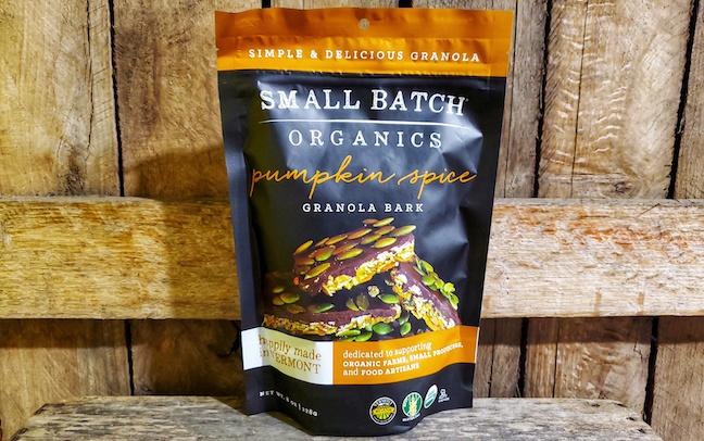 Organic Pumpkin Spice Granola Bark 8oz