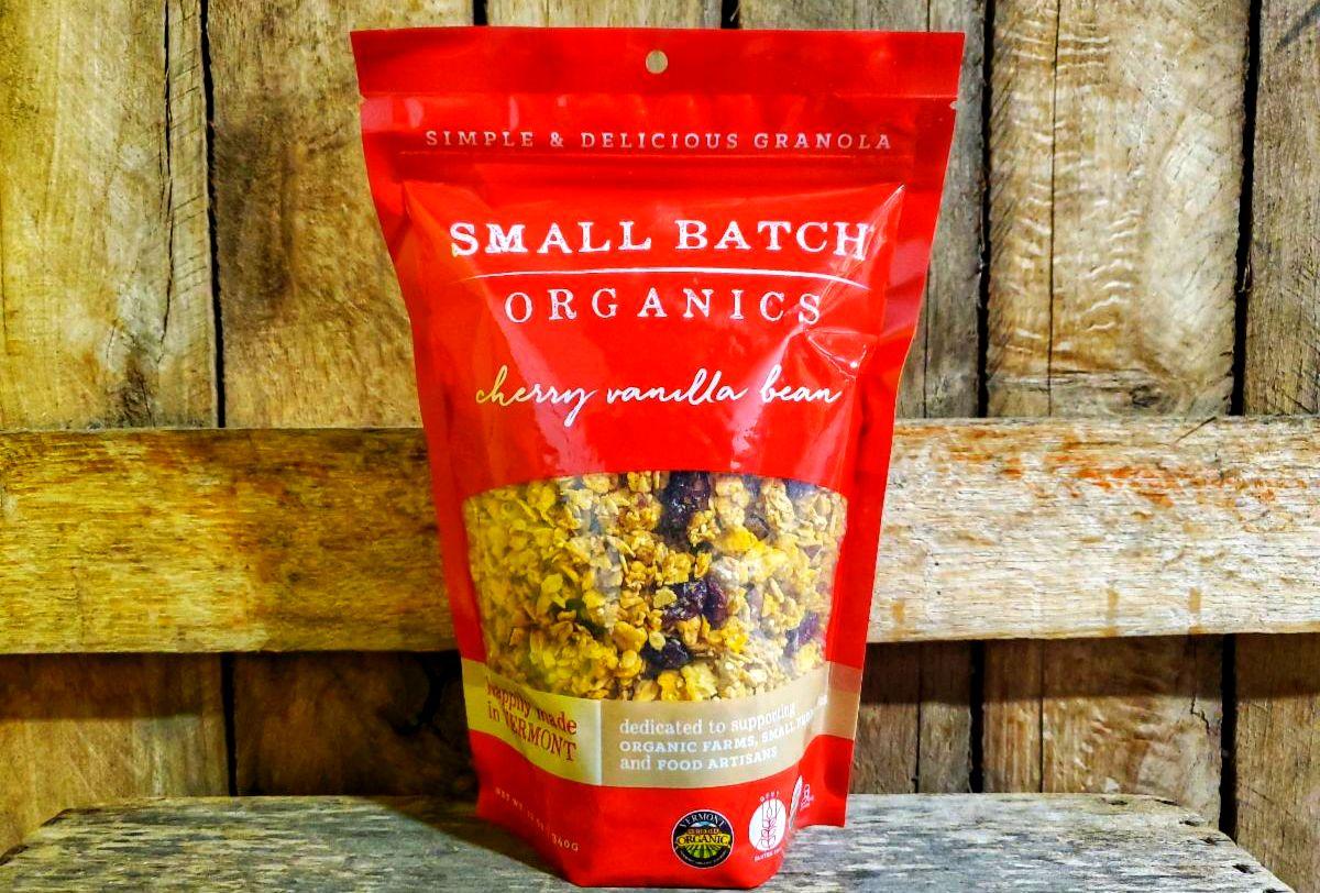 Organic Cherry Vanilla Bean Granola