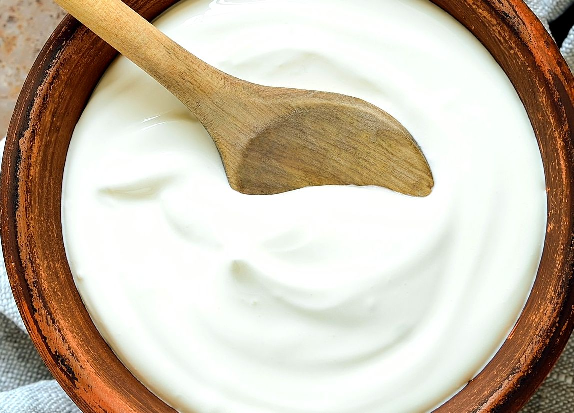 Plain Greek Yogurt- 4 x 5oz Containers