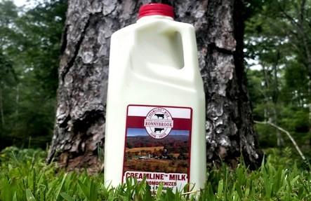 Ronnybrook Milk 1/2 Gallon