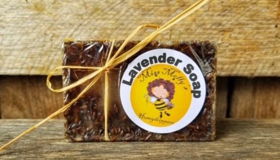Handcrafted Soap: Lavender 4oz