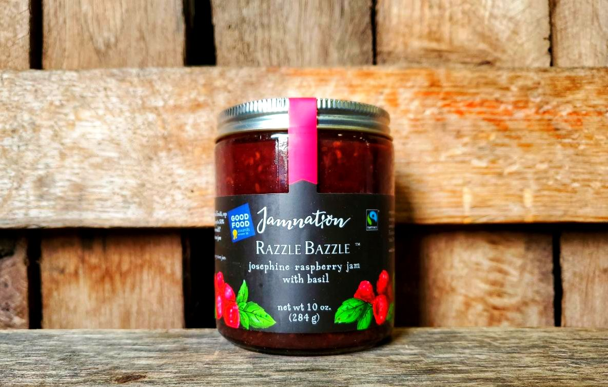 Jamnation Raspberry/Basil Jam 10oz