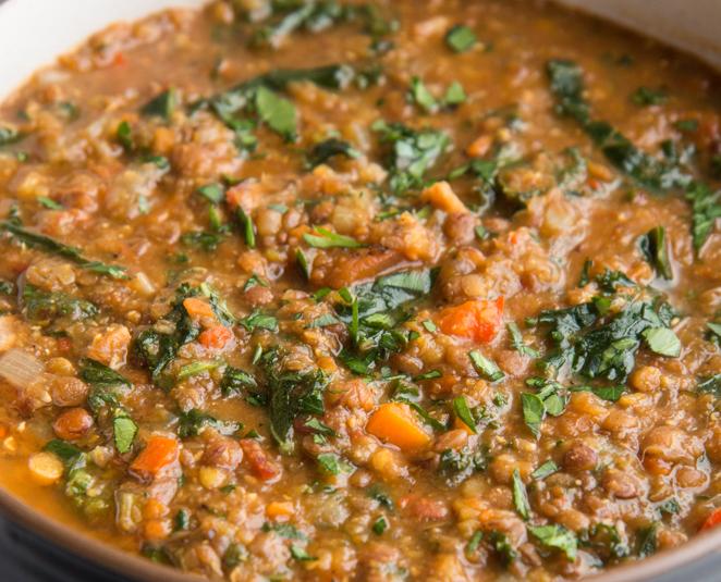 Kale Lentil Soup 1 Quart