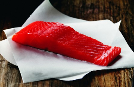 Wild Alaskan King Salmon $30/lb .65lb Fillet