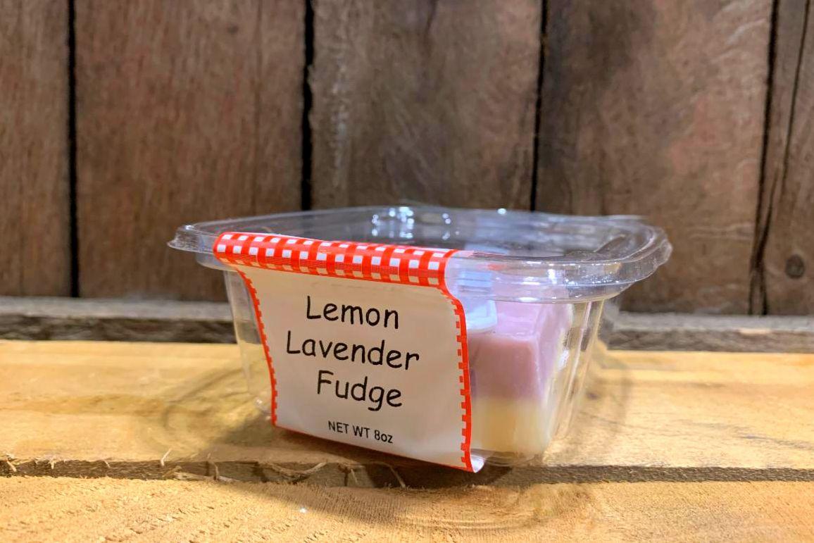 Lemon Lavender Fudge 8oz