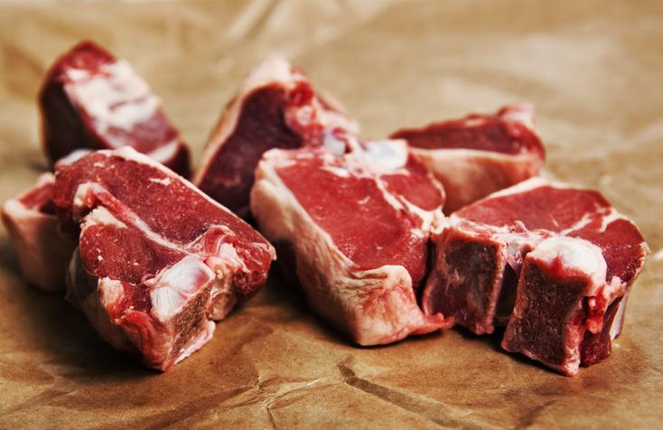 Lancaster Farms Lamb Loin Chop 2/pk, 1.7b $23.99/lb
