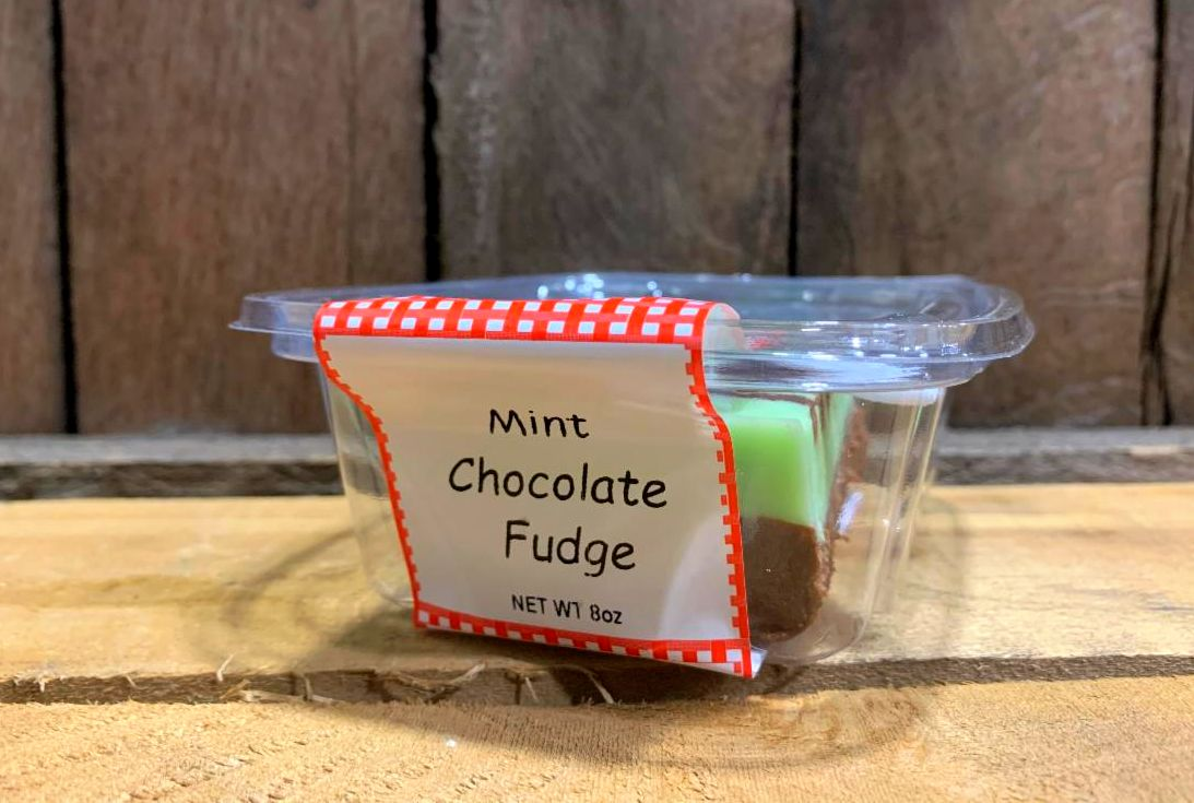 Mint Chocolate Fudge 8oz