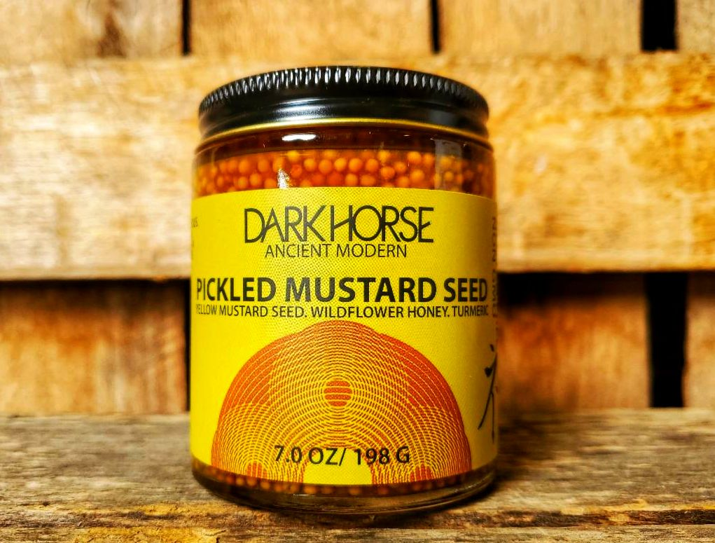 Pickled Mustard Seed 6oz Jar