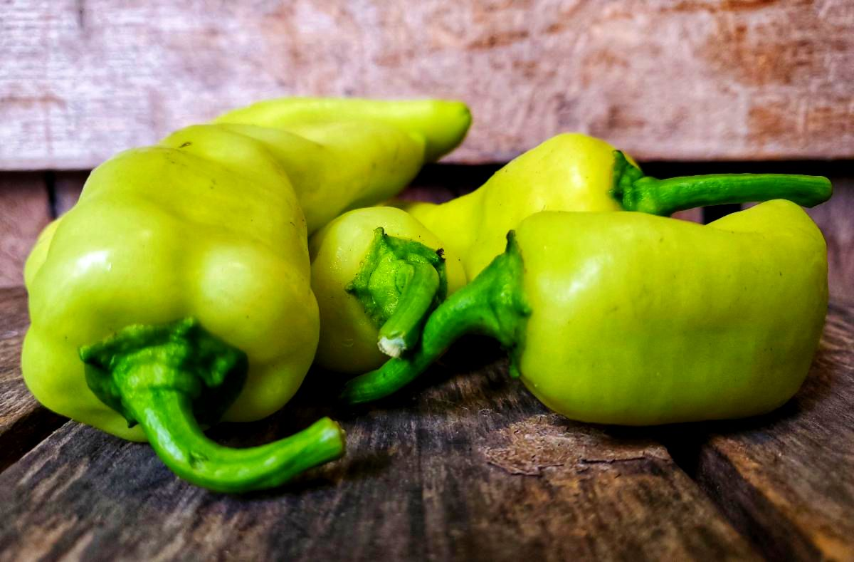 Organic Cubanelle Peppers 2lbs