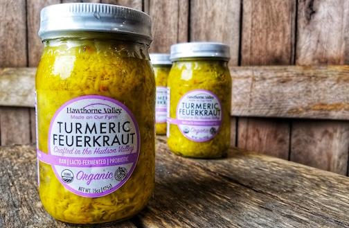Organic Turmeric Saurkraut