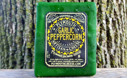 Plymouth Garlic Peppercorn Cheddar
