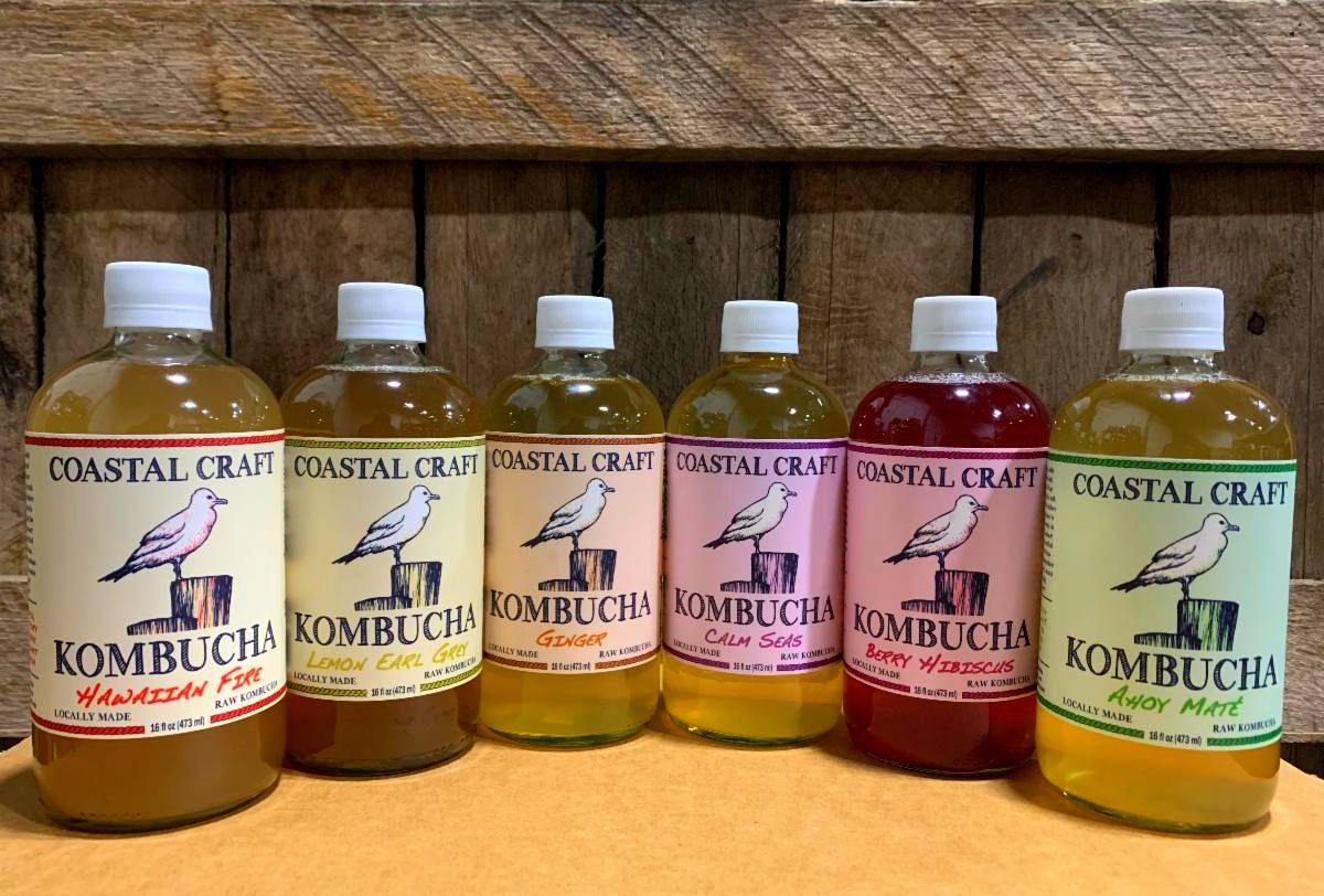 Organic Kombucha: 6 Pack MIXED FLAVORS