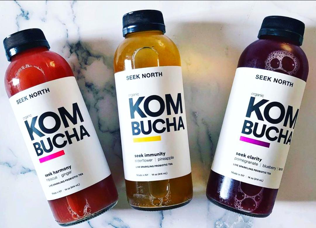 Organic Kombucha: 3 Pack MIXED FLAVORS