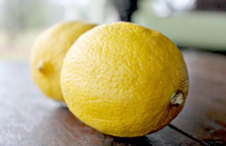 Organic Lemons Bag of 6