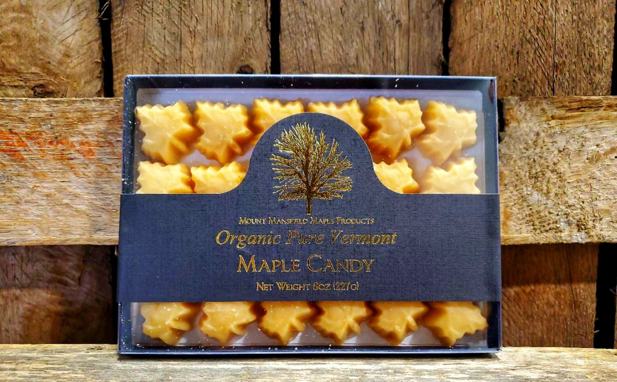 Organic Pure Maple Sugar Candy 8oz
