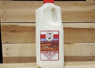RonnyBrook Whole Milk 1/2 Gallon